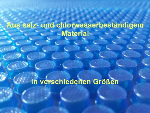 Solarfolie 400µm oval 6,00 x 3,20 m Poolabdeckung chlorbeständig