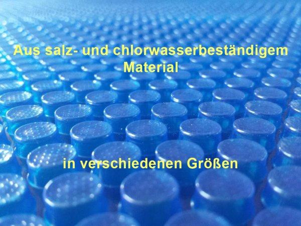 Solarfolie 400µm oval 8,00 x 4,00 m Poolabdeckung chlorbeständig